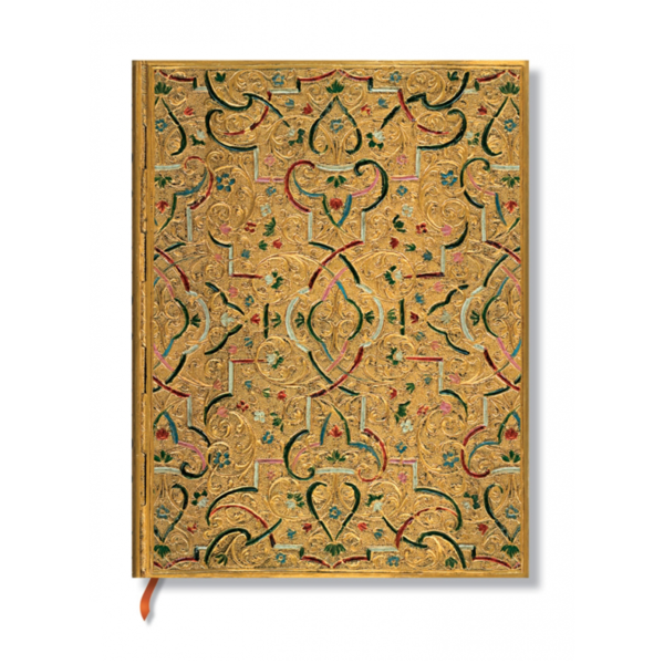 10 års kalender fra Paperblanks, Gold Inlay, Skoob.dk